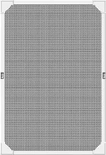 Schellenberg 50749 屋顶窗防昆虫 无钻孔 磁性 80 x 140 厘米,飞蚊格栅玻璃纤维织物包括框架,无缝固定带自粘磁条。