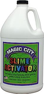 Magic City Slime 活化剂 - *,每次都能加入您*喜爱的黏胶胶胶,美国制造 1 加仑 03