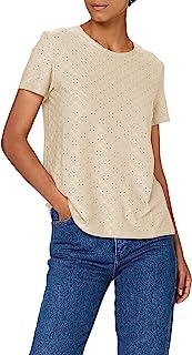 JdY 女士 Jdycathinka S/S Tag Top JRS Noos T 恤 灰色 XXL