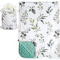 Bundled Joy 婴儿礼物 - 优质柔软毛绒轻质水貂绒婴儿新生儿毛毯 76.2 厘米 x 101.6 厘米 Euc…