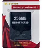 256MB 内存卡适用于 Playstation 2 ,高速存储卡,索尼 PS2 (1 包)