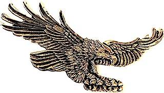 15.56 厘米 X 7.62 厘米鹰美国金属*章哈雷运动员 Sissy Bar 靠背 戴维森 Bobber Chopper 徽标贴纸 贴花 Dyna 骑行者 摩托车 飞鹰 HD 美国