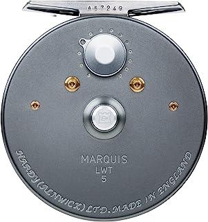 HARDY Marquis LWT 飞钓卷轴 - 右侧/左侧卷轴手柄位置 - 枪金属