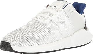 adidas Originals 男士 EQT Support 93/17 跑步鞋 白色/白色/黑色 11.5 M US Eqt Support 93/17