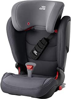 Britax 宝得适 Römer 儿童汽车座椅 KIDFIX Z-LINE, ISOFIX,Group 2/3(15-36公斤),3.5-12岁儿童,深灰色