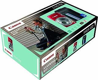 佳能 IXUS 150 点和射击数码相机 - PARENT9148B011AA Body with Case & SD Card NA 红色