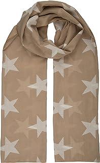 berydale 女式围巾,披肩与星星  米色 均码