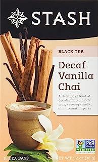 Stash Tea Decaf香草茶,6盒,每盒18袋茶包(共108袋茶包)