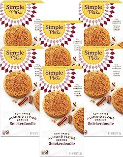 Simple Mills 软烤饼干 Snickerdoodle, 175.46克, 6 计数