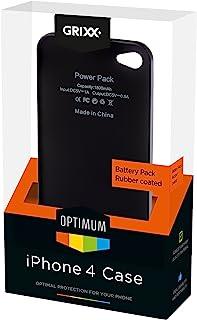 GRIXX GRIPH4BP01 *佳电池包(2200mAh)适用于Apple iPhone 4黑色