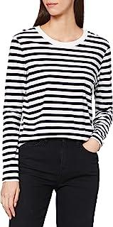 SELECTED FEMME 女士 Slfstandard Ls Tee STR Noos T 恤