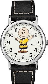 Timex Unisex x Peanuts - 38 mm Fabric Strap Watch