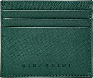 Bigardini 超薄钱包 Saffiano 真皮信用卡包 极简主义 RFID 信用卡包 男女皆宜