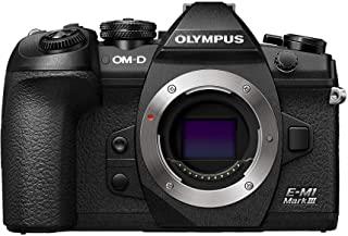 OLYMPUS 奥林巴斯 OM-D E-M1 Mark III 相机机身 黑色