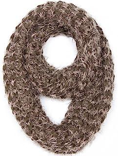 女式时尚冬季系列柔软针织围脖无限围巾