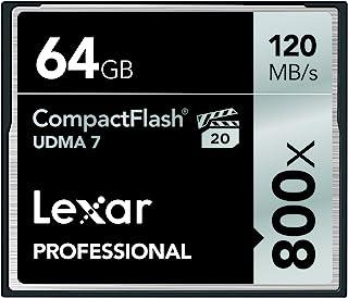 Lexar Professional 800 CompactFlash 卡LCF64GCRBNA800  64GB