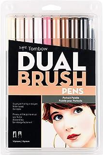 Tombow Dual Brush Pen Set, 10-Pack, Portrait