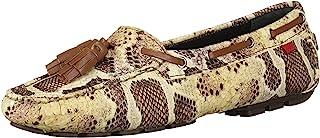 MARC JOSEPH NEW YORK 女士皮革巴西樱桃街头乐福鞋