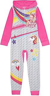 Jojo Siwa 女孩*毛毯睡衣 尺码 7-8 粉色 灰色