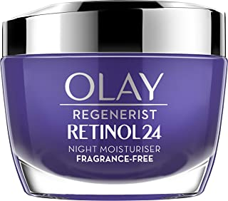 OLAY Regenerist Retinol 24 保湿晚霜,含视黄醇和维生素B3,无香料, 50毫升
