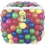 Click N' Play 彩色小球超值包塑料球玩具 无双酚A的邻苯二甲酸材质 防碎 6种明亮颜色 可重复使用 耐用的拉…