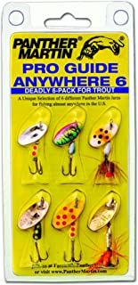 Panther Martin Pro Guide Anywhere 6 件装