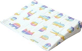sandesica 安眠枕 (防吐奶婴儿枕) 柔软6层纱布 カラフルアニマル