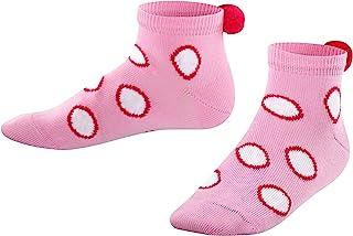 FALKE 儿童运动袜 Big Dots - 棉混纺,1 对,各种颜色,尺寸 23-42 - 易于打理,时尚双色圆点