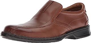 Clarks 男式 Escalade Step 一脚蹬乐福鞋