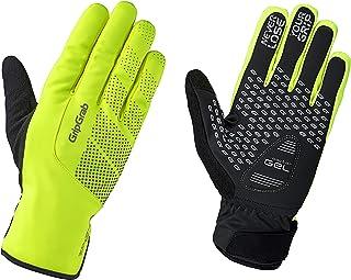 GripGrab Ride 高可视度防水冬季骑行手套,男女通用,1069,黄色高可见度