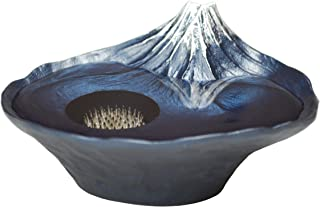 ナガエ 花瓶装饰盘 水滴影富士 青富士