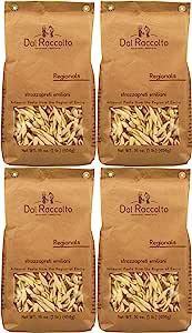 Dal Raccolto Strozzapreti 意大利面,1 磅(4 件装),64 盎司(约 1.8 千克)