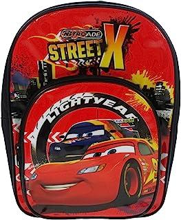 Disney 汽车总动员儿童背包,9 升,红色 DCARS001159