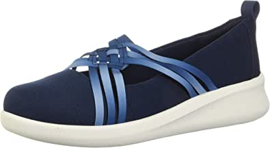 Clarks 其乐 女式 Sillian 2.0 Cora 芭蕾平底鞋