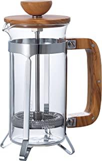 Hari 橄榄木咖啡馆压机 透明的 2 Cup CPSW-2-OV