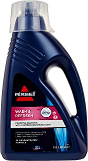 BISSELL Wash & Refresh Febreze 地毯洗发水 | Blossom & Breeze 香味 带Febreze | 适用于所有领先的立式地毯清洁剂 | 1078N
