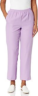 Alfred Dunner 女式经典 2020 纹理比例中等长裤