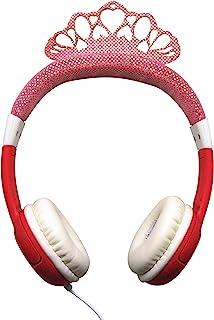 Teknofun 811265 耳机 立体声公主 适合 85 分贝儿童,限量粉色