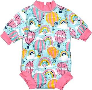 Splash About Baby Happy 2 合 1 潜水服和游泳尿布内置,起飞和外出,3-8 个月