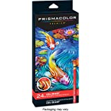 Prismacolor Col-Erase 可擦彩色铅笔,24支