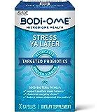 Bodi-Ome Stress Ya Later 益生元胶囊,可支持积极的情绪平衡٭(一盒30粒),经过验证货架稳定,针…