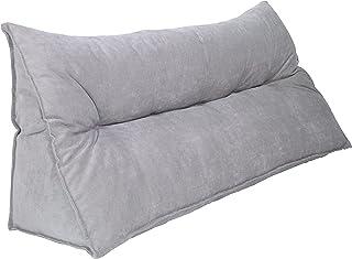 Meerweh 椅垫,楔形枕,120 x 30 x 50 厘米,浅灰色,花园家具垫