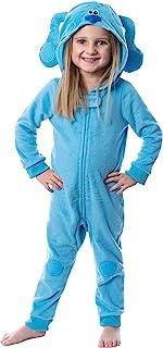 Nickelodeon 幼儿蓝线索角色连帽联盟套装服装*睡衣