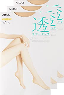 ATSUGI 厚木 ASTIGU 【透】 透明连裤丝袜 3双套装 ASTIGU 女士