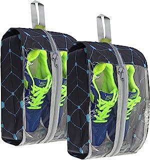 透明鞋袋拉链旅行鞋袋