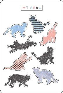 MT 贴纸 剪影猫