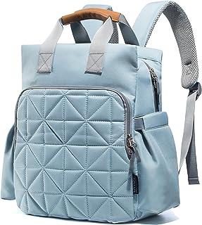 SoHo 系列,Kenneth 背包尿布包 5 件套 Aqua Sage