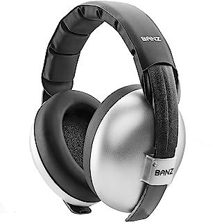 Banz EM013 Bubzee Earmuffs,S,银色