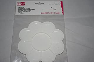 Efco 9-10 Parts 圆形油漆调色板,白色,13.5 厘米