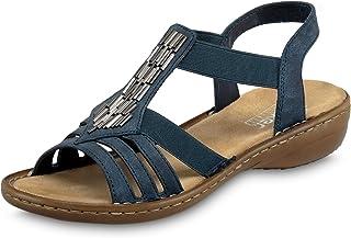 Rieker 60800-14 女士封闭凉鞋
